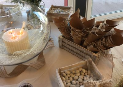 allestimnti tavolo decorazioni