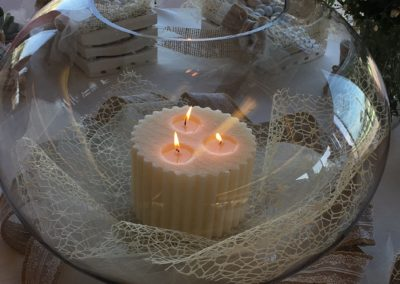 candele allestimento matimoni